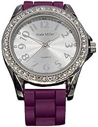 Alain Miller Reloj Analógico para Hombre de Cuarzo con Correa en Silicona RP6000000001