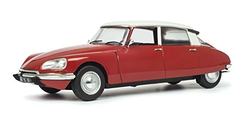 Solido 421184190 Citroen DS Special, 1972, rot, Miniaturmodell im Maßstab 1:18 Modellauto - Modell Citroen