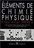 Eléments de chimie physique