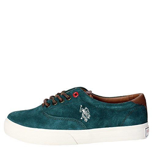 U.s. Polo Assn GALAD4249W3/SL2 Sneakers Donna Nabuk Verde Verde 37
