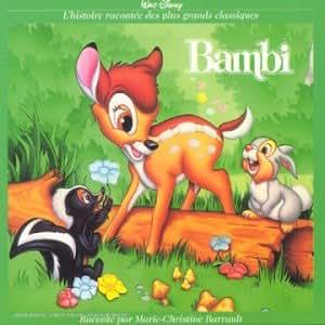 Bambi - L'histoire racontée par Marie-Christine Barrault