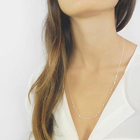 MARIE - Collana in argento 925 placcato