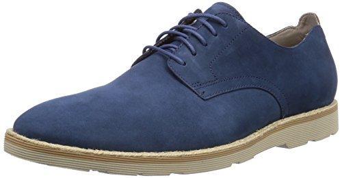 Clarks  Gambeson Walk, Derbies à lacets homme Bleu - Blau (Navy Nubuck)
