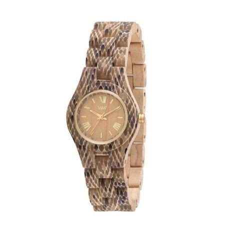 WeWOOD Criss Python Beige de mujer (Reloj (madera) – wewood05