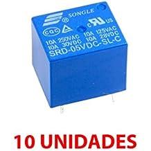 Fologar 10X Rele 5v 10A SDR