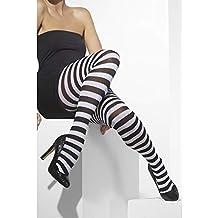 Smiffys 42761 Déguisement Femme Collant Opaque à Rayures cab3b763b35