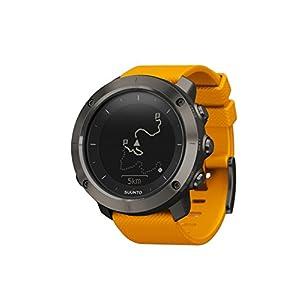 Suunto - Traverse - SS021844000 - Reloj GPS Outdoor para excursionismo y senderismo - Sumergible - Ámbar - Talla única