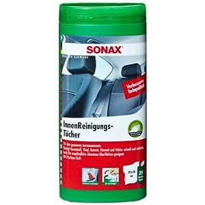 SONAX 412200 InnenReinigungsTücher Box (enthält 25 Tücher)