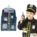 THEE Disfraz de Policía para Niños de Halloween