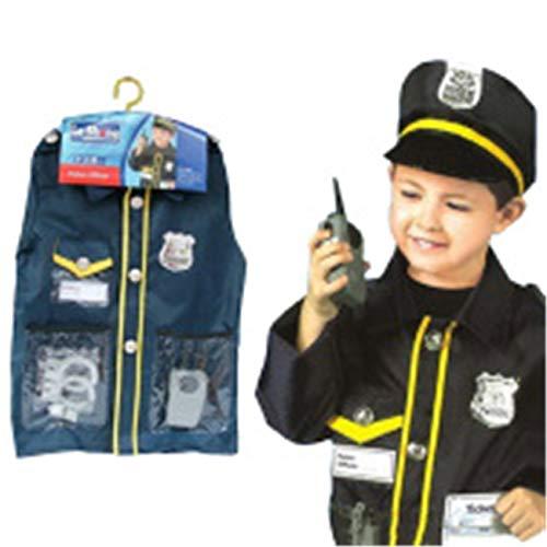 ShiyiUP Polizei Kostüme für Kinder Polizist Anzug Jungen -