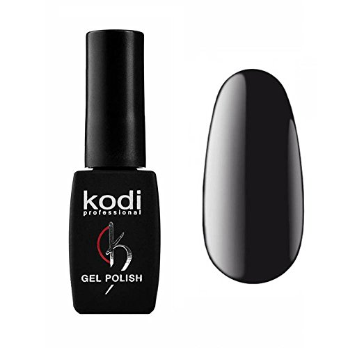 Kodi Professional New Collection BW Color Gel Nail Polish 12ml 0.42 LED UV Genuine Soak Off Fl Oz Black #100