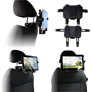 Navitech In Car Head Rest Mount For The Motorola Xoom PC tablet device Android 3.0