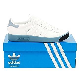 adidas Originals Forest Hills, Footwear White-Footwear White-raw Grey, 8