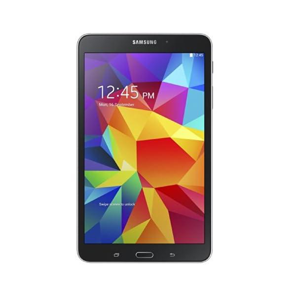 Samsung Galaxy Tab 4 7-inch Tablet (Black) – (Quad Core 1.2GHz, 1.5GB RAM, 8GB Storage, Wi-Fi, Bluetooth, 2x Camera, Android 4.4) 41YKA9YhZFL