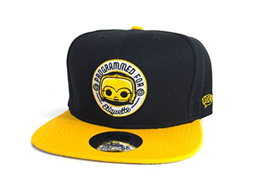 Star Wars Droids Funko Baseball Cap C-3PO Snap Back (Smugglers Bounty Exclusive)