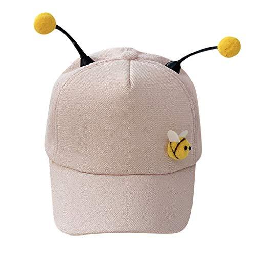 Baseball Cap Kinder Mädchen Jungs ♥ Loveso♥ Mode Sommer Hat Kappen Verstellbar Fashion Biene Design Baseball Mütze Sun Caps Sport Mütze Schirmmütze Winter Watch Cap