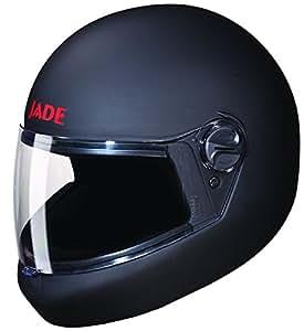 Studds Jade Full Face Helmet (Matt Black, L)
