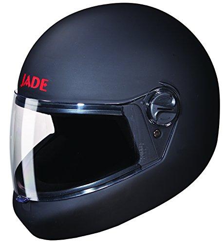 Studds Jade Full Face Helmet (Matt Black, XL)