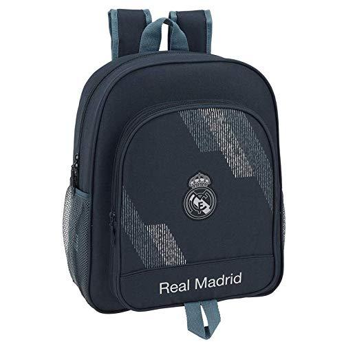 Safta- Mochila Junior Adaptable Carro Real Madrid