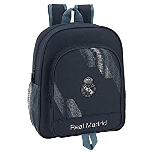Safta- Mochila Junior Adaptable a Carro Real Madrid, (611834640)