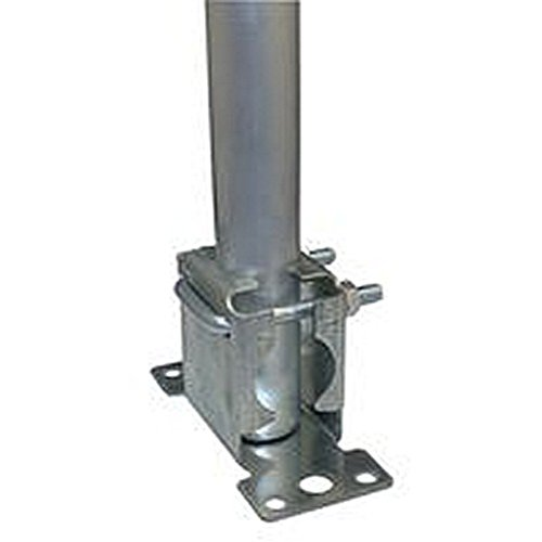 Dachbodenleiter Befestigungssatz 45,72 cm MAST für Antennen Setinhalt 45,72 cm MAST Dachbodentreppe Halterung mit Stopfen aus Kunststoff.