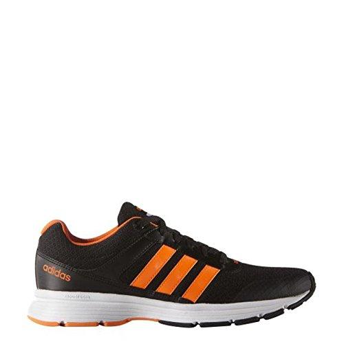 adidas Cloudfoam Vs City, Chaussures de Sport Homme Noir / Orange / Blanc (Negbas / Narsol / Ftwbla)