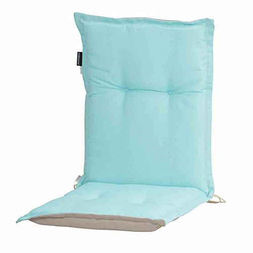 Madison 7MONLB248 Panama duo Auflage zu Stapelsessel 75% Baumwolle 25% Polyester, mint