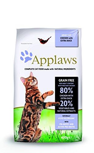 Applaws Katze Trockenfutter Huhn & Ente, 1er Pack (1 x 400 g)