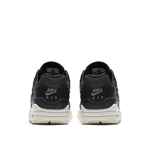 Nike Wmns Air Max 1 Premium, Baskets Femme Gris (anthracite Blanc Rouge Blanc 016)