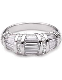 Vilma Righi Ring mit 35 weissen Zirkonia in versch. Schliffformen, Silber 925/rhodiniert 4028146216044