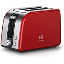 Electrolux EAT7700R 2fetta/e 850W Rosso, Argento