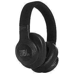 JBL E55BT Over Ear Bluetooth Kopfhörer - Wireless Headphones mit integriertem Headset - Musikgenuss für bis zu 20 Stunden Schwarz