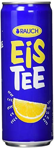 Rauch EisTee Zitrone, 24er Pack (24 x 0,355 l)