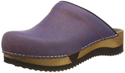 Sanita Damen Rana Sport Flex Open Clogs, Blau (Lavender Blue 35), 42 EU