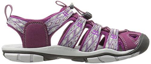 Keen Damen Clearwater Cnx Sandalen Trekking-& Wanderschuhe Dark Purple/Purple Sage