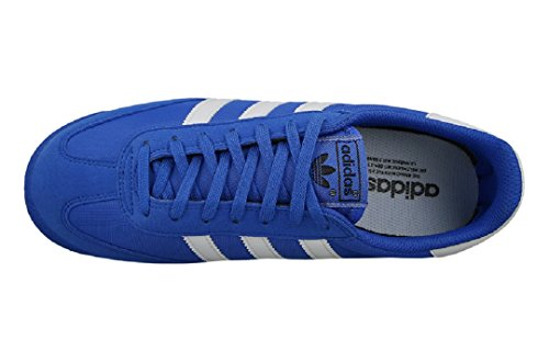 adidas Unisex-Erwachsene Dragon Og Sneaker Blau (Blue/Footwear White/Gum)