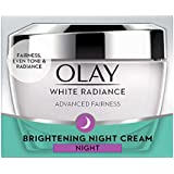 Olay White Radiance Advanced Night Essence Skin Cream Moisturizer, 50g