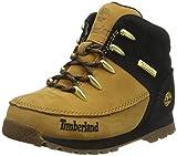 Timberland Euro Sprint, Chaussures de Randonnée Basses Mixte Enfant, Jaune (Wheat Nubuck), 22 EU