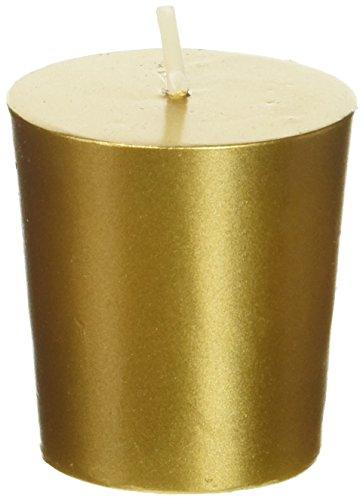 Gold Votiv-kerze (Zest Candle Votivkerzen, Metallic-Gold, 12 Stück)
