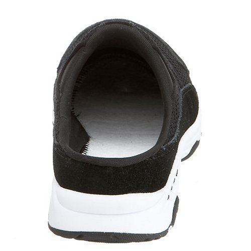 Easy Spirit Traveltime Synthétique Mules Blk-Wht