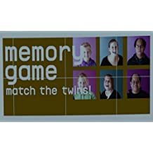 Twins Memory Game 3rd print: Match the Twins!