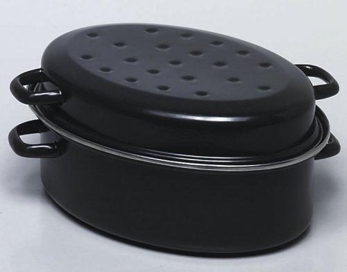 kruger-cocotte-ovale-38-cm-avec-couvercle-saveur-noir