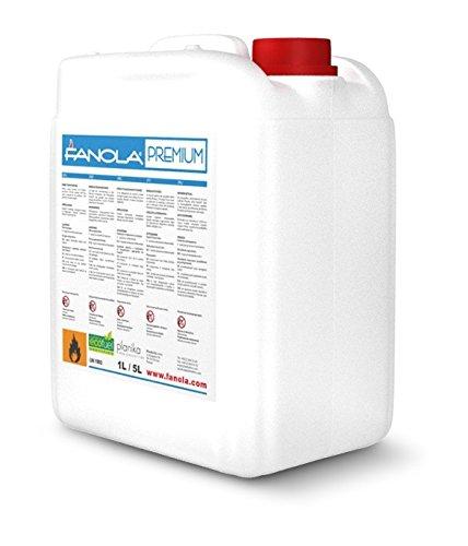 Planika Fanola - 96,6% iges Bioethanol in 5 Liter Kanistern: 20 Liter