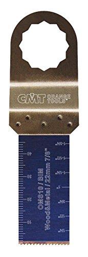 CMT : Lame bi-métal 22 mm plongeante et de coupe à ras / bois - métaux ( supercut - vecturo )