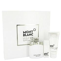 Montblanc Legend Spirit by Mont BlancGift Set - 3.3 oz Eau De Toilette Spray + 0.5 oz Mini EDT Spra