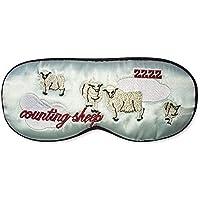 Sumferkyh Silk Silk Sleep Augenmaske und Augenmaske, komfortable und Einstellbare Travel Blue Plane Schlafmaske... preisvergleich bei billige-tabletten.eu