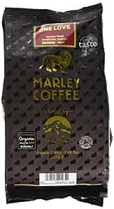 Marley Coffee Organic One Love Medium Roast Ground Coffee Bag 227g