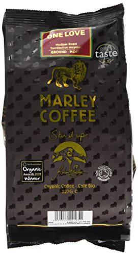 Marley Coffee Organic One Love Medium Roast Ground Coffee Bag 227g 41YKQ6PLO1L
