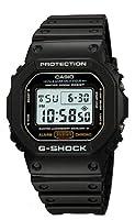 Reloj CASIO G-SHOCK DW-5600E-1V Cronógrafo, Alarma, Cuenta regresiva, Sumergible 20BAR-Correa de caucho negra de Casio