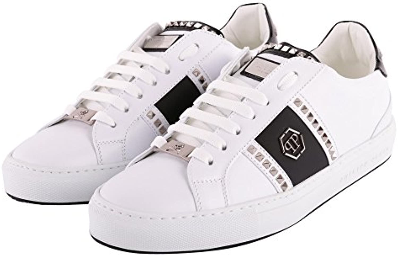 Philipp Plein Sneakers Brooks MSC1482 White Black